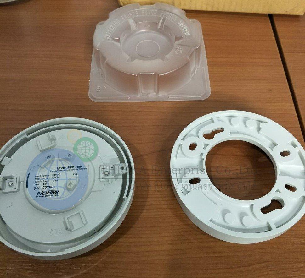 Brand : NOHMI Description : Photoelectric Smoke Detector (Class2) Model : FDK246N